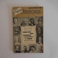 Revue mensuelle N°7 Les cahiers de l'Histoire de Russie 1961 XXe PN France