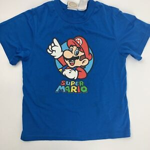 Super Mario Nintendo Video Game Kid's T-Shirt Size 10/12