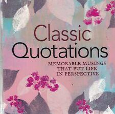 Classic Quotations Paperback Book 9781788285896