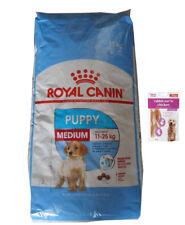 15kg Royal Canin Medium Puppy Junior + 80g Fleischsnacks