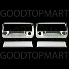 For Chevy S10 & BLAZER 1998-2005 2006 Chrome 2 Door Handle Covers WITH P Keyhole