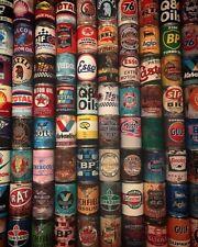 Petrol Motor Tin Can Replica Rusty Rust Memorabilia Vintage Motoring Oil Cans