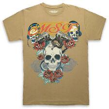Herren-T-Shirts aus Baumwolle mit Biker M