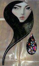 Stella Im Hultberg Ikiryo 01 Painting RARE NOT KEYES RYDEN AUDREY KAWASAKI KAWS