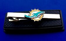 Miami Dolphins Tie Bar NFL Logo Tie Bar Football Gift IdeaNEW