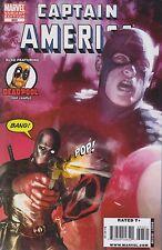 CAPTAIN AMERICA #603 - Gerald Parel 1:15 Deadpool variant Comic (2004) - NM