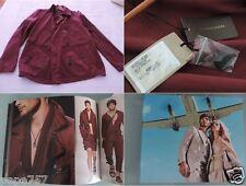 BOTTEGA VENETA Vermillon Canvas Cotton Jacket 52 EU NEW Ref.Catalog 254960/VR640