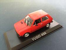 YUGO 45A VOITURE 1/43 IXO IST - LEGENDARY CAR AUTO - BA62