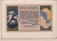 grande Erinnofilo Chiudilettera Reklamemarke 1914-18 guerra Prussia Germania