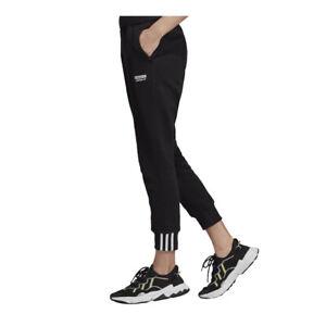 ADIDAS ORIGINALS Vocal  Pants Sweatpants Bottoms Trousers Black 8 10 12 14