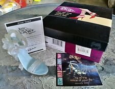 In Box Just The Right Shoe Sheer Grace w/ Coa Raine Willitts 2002 Jtrs 25361