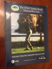 2009 The AT&T Pebble Beach National Pro-Am Program Guide Fed Ex Cup