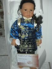 Rare Lee Middleton Doll Eva Hallend Imperial Splendor in Box Asian Girl 27 inch