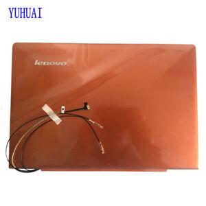 New LCD BACK COVER for Lenovo IdeaPad U330P U330 NO Touch Rear Lid  orange