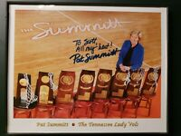 PAT SUMMITT Signed TENNESSEE LADY VOLS 8X10 Photo To Scott Auto Autograph