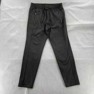 Athleta Sweatpant Women's Size Small Gray Tapered Leg Drawstring Zip Pockets