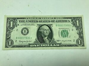 1963-A $1 FEDERAL RESERVE STAR NOTE ✪ GEM UNCIRCULATED ✪ MANY AVAILABLE◢TRUSTED◣