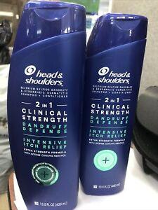 Head & Shoulders Dandruff Defense Shampoo+ Conditioner Pack of 2 Exp 5/23