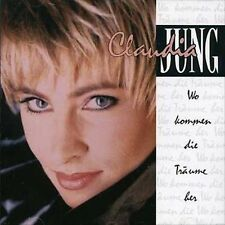 CLAUDIA JUNG - Wo Kommen Die Traume - 10 TRACK MUSIC CD - LIKE NEW - H636