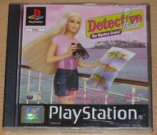 Detective Barbie Misterio Crucero Ps1 Juego (Ps2 Compatible) Uk Original todos VGC