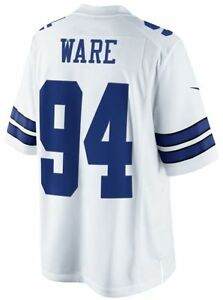 DeMarcus Ware Nike Dallas Cowboys NFL Limited White Jersey Adult XL Free Ship