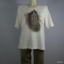 f+Thoma Rabe Damen T-Shirt Top Longshirt  Baumwolle Gr. 42 NEU
