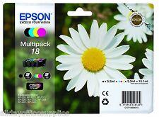 Epson Genuine T1806 18 4 Ink Multipack Expression Home VAT INC