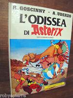 Cartonato Originale L'odissea di Asterix Goscinny Uderzo MONDADORI 1° ediz. 1981
