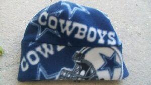 Dallas Cowboys NFL Fleece Hat Szs Newborn Baby, Boys, Girls, Children, Adult Men