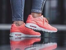 Nike Air Max 1 Ultra Plush UK Size 5 EUR 38.5 Mujer Zapatillas Zapatos Rosa Blanco
