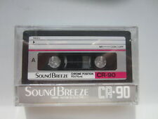 Authentic SNC  SOUND BREEZE   Audio Cassette Tape Fidelity 90 Min   NEW
