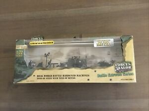 Forces Of Valor 95048 U.S. Army M3A1 Halftrack & 105mm Howitzer Set 1/72 New