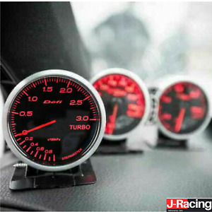 Defi style Racer BF 2.5inch Racer 60mm ANY 3 Gauges Boost, Pressure, Oil, Temp
