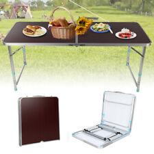 CampFeuer Campingtisch 120 x 60 cm Rolltisch Klapptisch Falttisch Gartentisch