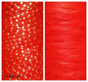 Hearts * NEW ! Raffia Ribbon Cut Lenght 1~5~10~20m FLOWERS GIFT WRAPPING CRAFTS