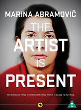 DVD:MARINA ABRAMOVIC - THE ARTIST IS PRESENT - NEW Region 2 UK