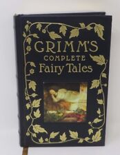 GRIMM'S COMPLETE FAIRY TALES Barnes and Noble Leatherette 1993 Deluxe Book L New