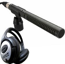 Rode NTG1 Richtmikrofon Richtrohr + Keepdrum Kopfhörer