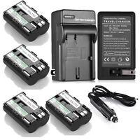 2200mAh BP-511A Battery + Charger for Canon EOS 20D 30D 40D 50D 5D BP-512 BP-514
