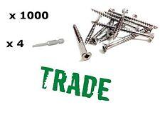 1000 8gx50mm Stainless Steel 304 Deck Screws Decking Merbau Not Trim Head DIY
