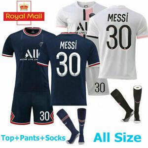 21/22 Kids Adults Football Custom Jersey Full Kits Boys Soccer Training Suits SZ