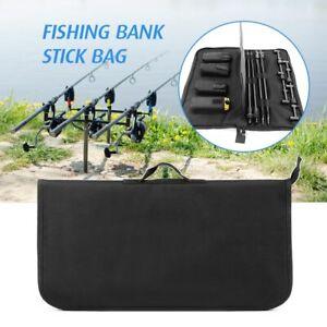 Buzz Bar Organizer Fishing Bait Stick Bag Alarm Pouch Padded Tool Storage Bank