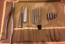 Equine Burgess Set, Hand Crafted, Stainless Steel, Dental,Equine