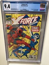 X-Force 11 CGC 9.4 1st Appearance Domino Marvel