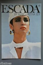 R&L Ex-Mag Advert: Escada By Margaretha Ley, 1980's Fashion