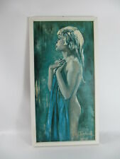 Vintage mid century Druck print  38 x 72 cm  Betty Raphael - Aurora  Erotik 60s