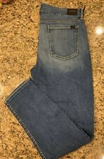 NWT Jen7 For 7 For All Mankind Skinny Jeans Medium Wash Size 12 $195