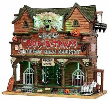 Lemax 55912 BANSHEE'S BOO-B-TRAPS Spooky Town Building Sights & Sounds Decor I