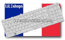 Clavier Français Orig. Blanc Toshiba Satellite PRO C650 C650D C660 C660D Série