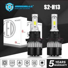 H13 LED Headlight Hi/Lo For Ford F150 2003-2014 F-250 F-350 Super Duty 2005-2018